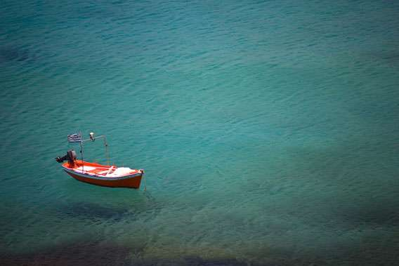 Image of Drifting Boat